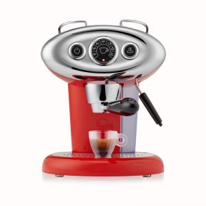 Illy X7.1 iperspresso rossa fronte