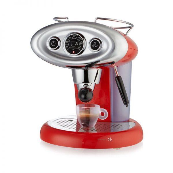 Illy X7.1 iperspresso rossa lato