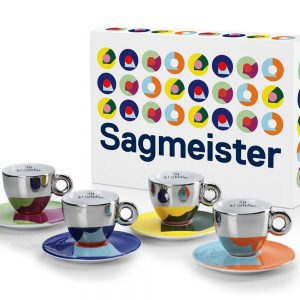 Illy Sagmeister set 4 capuccino