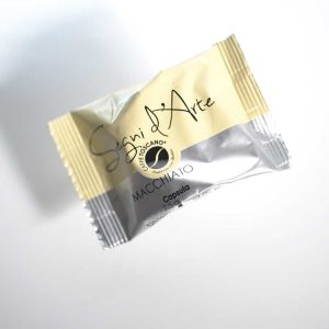 caffè toscano segni d'arte capsula macchiato